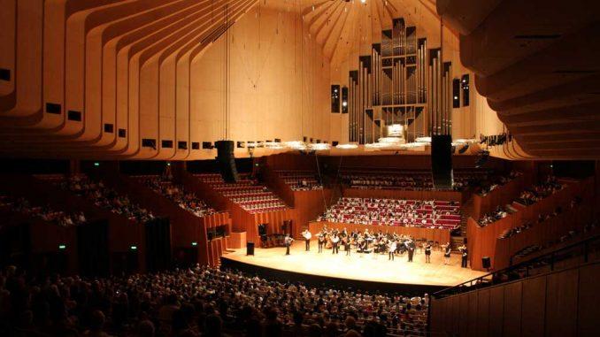 Der große Konzertsaal im Opernhaus in Sydney