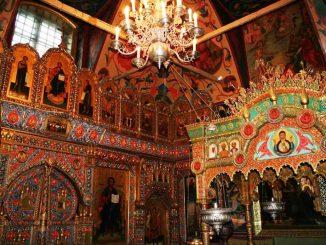Im Inneren der Basilius Kathedrale