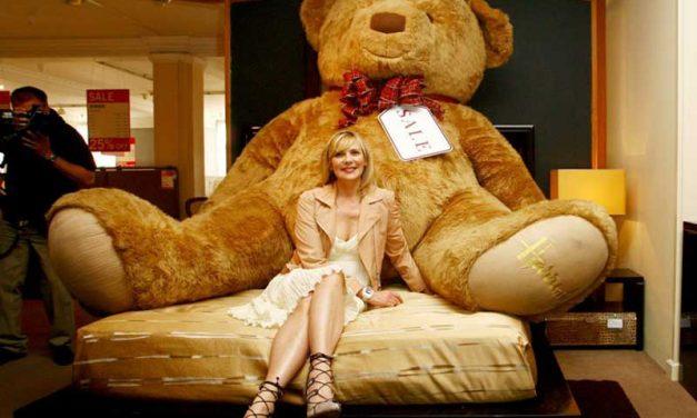 Der größte Teddybär