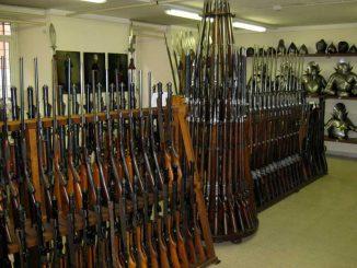 Waffenarsenal der Schweizer Garde