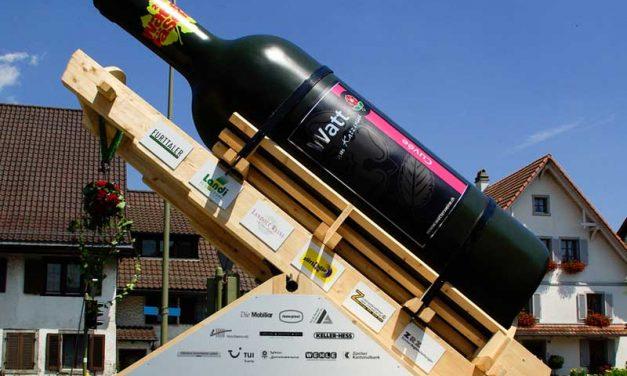 Die größte Weinflasche der Welt