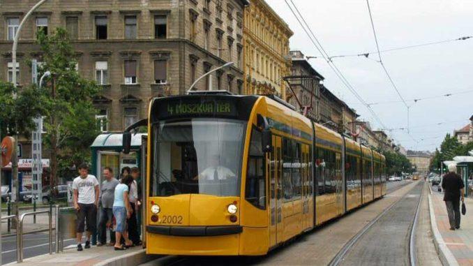 Der Combino Supra von Siemens in Budapest