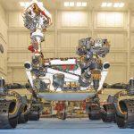 """Wie schnell läuft der Mars Rover """"Curiosity"""""""