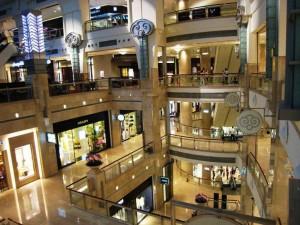 Im Taipeh 101 ist eine High- End Shopping Mall