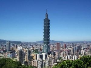 Der 101 Stockwerke hohe Taipeh Tower