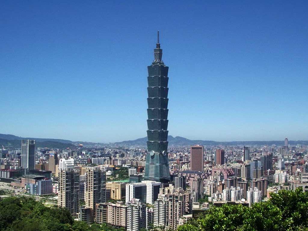 wie hoch ist der taipeh tower wie gross wie schwer wie weit wie hoch. Black Bedroom Furniture Sets. Home Design Ideas