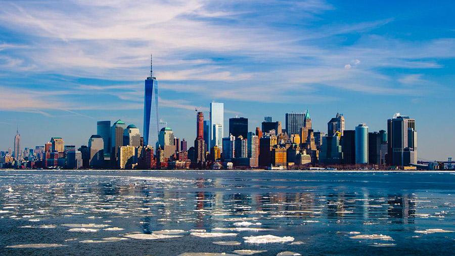 New York - Eine der bekanntesten Skylines der Welt