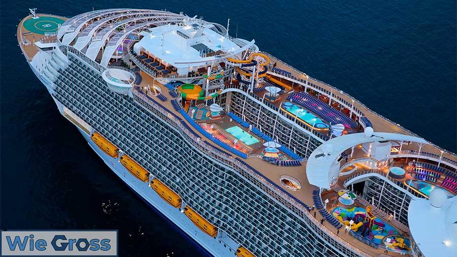 Das größte Kreuzfahrtschiff der Welt in 2020